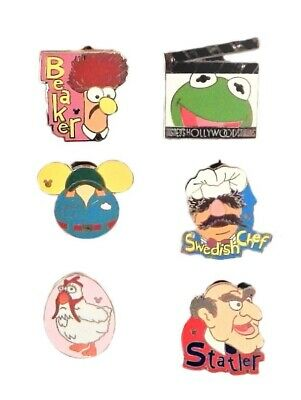 Muppets Themed 5 Disney Park Trading Pins Set ~ Randomly Assorted ~ Brand NEW