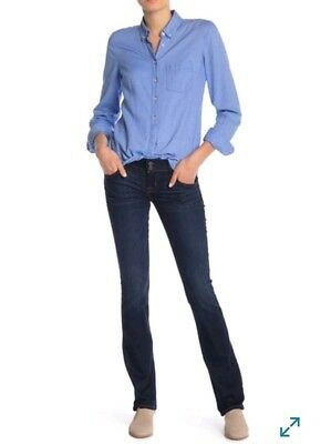 c609add8e56 NWT HUDSON WOMENS Beth Baby Boot Mid-Rise Bootcut Stretch Jeans Size ...