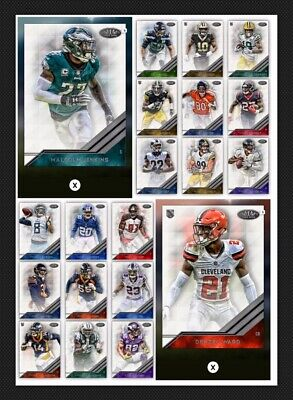 20 Card Set-Tier One Base Wave 3-Chubb/Mariota++Topps Huddle 19 Digital