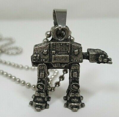 Figural Star Wars AT-AT Walker Pendant Necklace - Lucasfilm Limited LFL Signed
