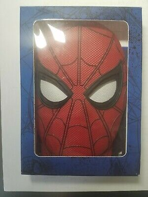 Spider-Man: Homecoming (2017) Mask Case Includes 4K UHD + Blu-Ray + Digital