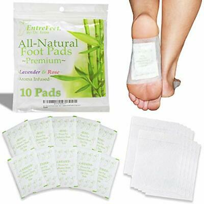Dr. Entre's Foot Pads: 100% Organic All Natural Ingredients for Impurity Removal