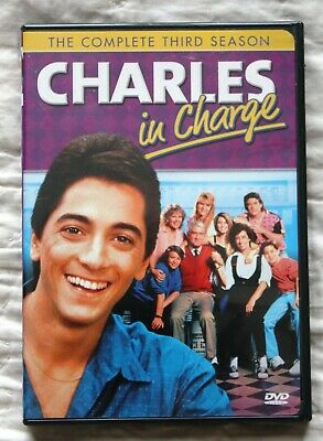 Charles In Charge - The Complete Third Season (DVD, 2008, 3-Disc Set) Very Good