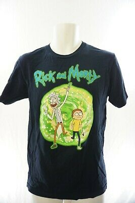 eecec6835 RICK AND MORTY Holidays Funny Black T-Shirt - $17.99 | PicClick