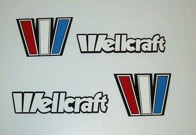 Bruiser 2 BOAT DECALS 6x80 inches long wellcraft grady white