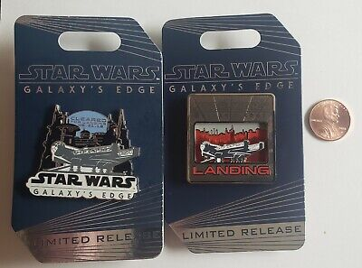 Disneyland Star Wars Galaxy's Edge LIMITED EDITION Opening Day Pins