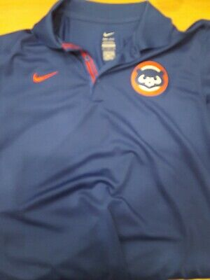 f9f85d1d Nike Vintage Chicago Cubs Cooperstown Collection Polo/Golf Shirt Medium