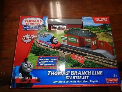 THOMAS & FRIENDS Trackmaster Motorized Thomas Rides The Rails