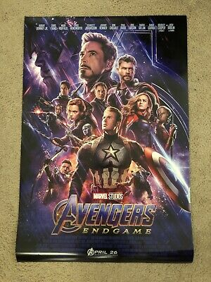 Avengers: Endgame 27x40 Original Double Sided One Sheet Poster in Mint Condition