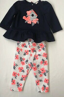 Gymboree Baby Infant Girl Two Piece Spring Outfit 3-6 Months