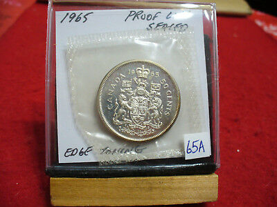 1965 Canada Silver Half Dollar Top Grade  50 Cent Piece  65A  Proof Like  Sealed