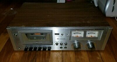 Vintage Sanyo RD 5030 Stereo Cassette Player / Tape Deck - Powers On - AS IS