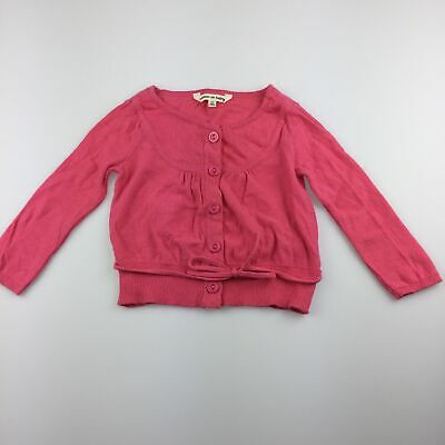 Girls size 00, Cotton On Baby, pink lightweight cotton cardigan, GUC