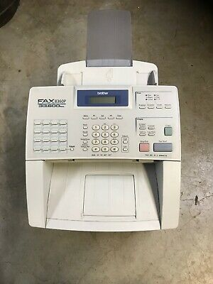 FAX MACHINE 8360P 33,600 bps BROTHER OFFICE BUSINESS COPIER