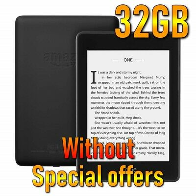Amazon Kindle Paperwhite (10th Generation 2018) 32GB, without Special Offers