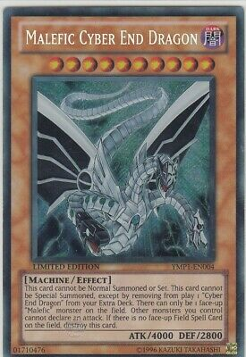 Yugioh Malefic Cyber End Dragon YMP1-EN004 (Secret Rare)