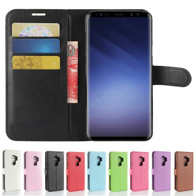 Magnetic Leather Card Wallet Flip Stand Case For Samsung Galaxy S6/S6 Edge Plus