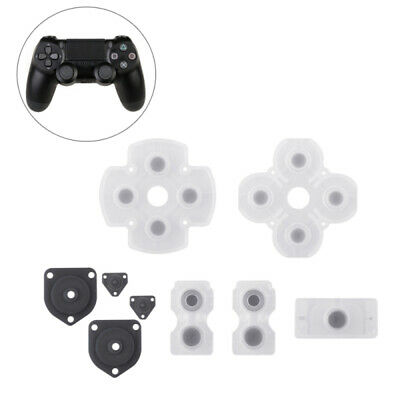 HOT Rubber Button Contact Pads Set Repair Parts for PS4 DualShock Controller