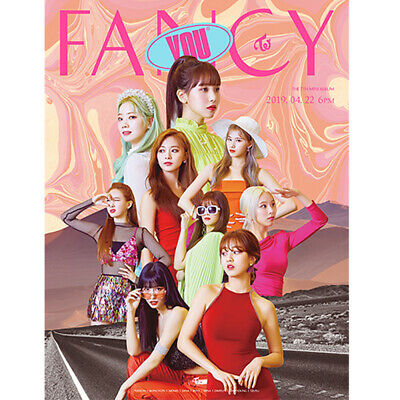Twice 7th Mini Album Fancy You (Pre-order Benefits : Poster, Photocards set)