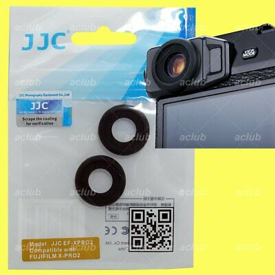 JJC Silicone Rubber Viewfinder Eyecup For Fujifilm X-Pro2 XPro2 - 2 Pieces