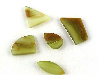 5 Piece Natural Mookaite Jasper Gemstone Mix Shape Smooth Cabochons Wholesale