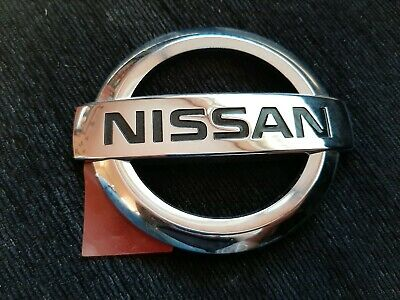Nissan Genuine Qashqai Rear Emblem Badge Logo For Trunk Boot 90890BR12A