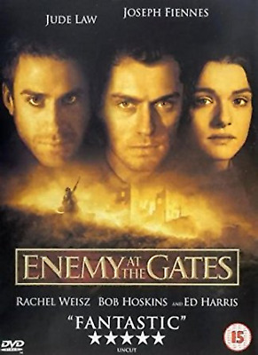 ENEMY AT THE GATES DVD Eva Mattes Ed Harris  Movie Film New Sealed UK New R2