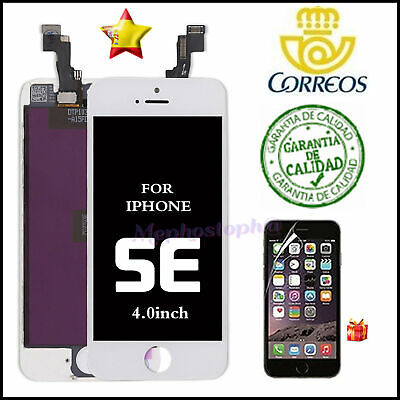 Pantalla Frontal iPhone SE LCD Display Retina Tactil Digitalizador Blanco nuevo