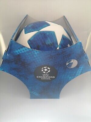 Adidas Champions League Finale 2018-19 OMB ball, Size 5, CW4133, blue, with box