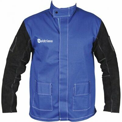 WC-04658 Promax Blue FR Welding Jacket