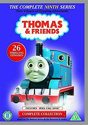 THOMAS AND FRIENDS THE COMPLETE SERIES 9 DVD Ninth 9th Season Nine UK New R2