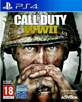 CALL of DUTY WORLD WAR II 2 (WWII) PS4 - SUPER FAST SAME DAY DISPATCH!😊Sony