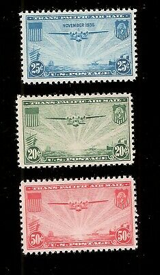US AIR MAIL Sc# C 20 NH-Sc# C 21-NH -Sc# C 22 NH* TRANS PACIFIC-SET of 3 Stamps