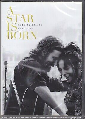 Dvd A STAR IS BORN con Bradley Cooper Lady Gaga nuovo 2018