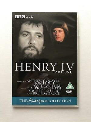 NEW Henry The 4th Part One dvd BBC Shakespeare Collection IV RARE 1979 King