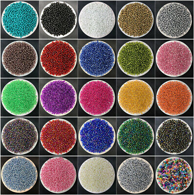 NEW DIY 15g 3mm 500PCS Lots Charm Czech Glass Seed beads Jewelry Making Craft C