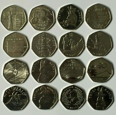 CHEAPEST 50p COINS FIFTY PENCE KEW GARDENS OLYMPICS BEATRIX POTTER ISAAC NEWTON