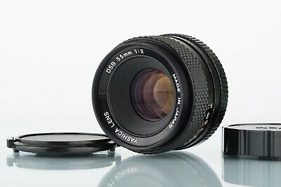 Yashica DSB 55mm f/2 C/Y Contax/Yashica mount manual focus lens, Near Mint