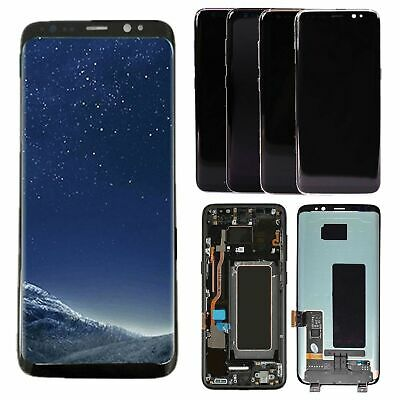 USA For Samsung Galaxy S8 G950 & S8+ G955 LCD Display + Touch Screen Digitizer