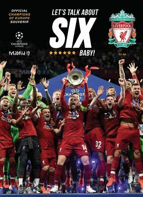 Liverpool FC – Champions of Europe 2019 – Souvenir Magazine - In Stock Now