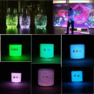 30g DIY Glow in the Dark Acrylic Luminous Paint Bright Pigment Party Decoration