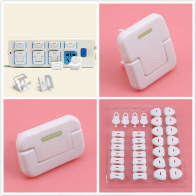 Baby Safety Electrical Outlet Plug Shock Proofing Electrical Socket Cover N7