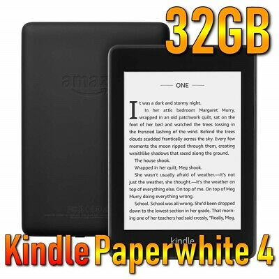Amazon Kindle Paperwhite (10th Generation 2018) 32GB, Wi-Fi with Special Offers