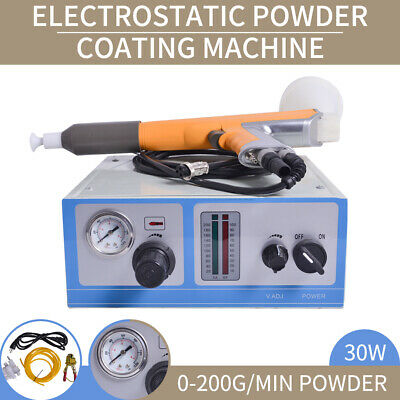 New 110V Electrostatic Powder Coating Spray Gun Spray Machine Paint System