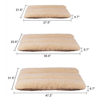 XXL Large Pet Bed Mattress Dog Cat Cushion Pillow Mat Blanket Soft Winter Warm