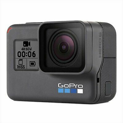 GoPro HERO6 Black Action Cam Video Kamera GPS WLAN Full HD 4K 1080p 12MP Foto