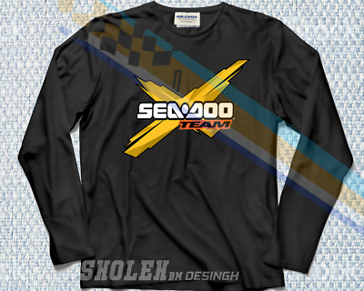 BOMBARDIER SEA DOO Jet Ski Watercraft x Team Logo T-Shirt
