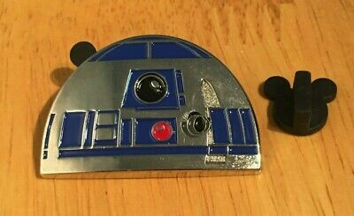 Star Wars R2-D2 Disney Store 3D Pin Droid Hard to Find