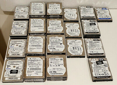 "250GB 2.5"" SATA Laptop Hard Drives, Various Brands"