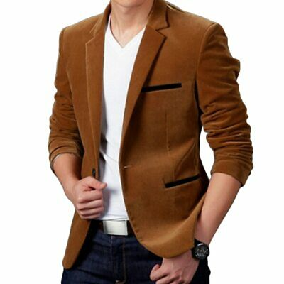 New Arrival Luxury Men Blazer New Spring Fashion High Quality Cotton Slim Fit Me